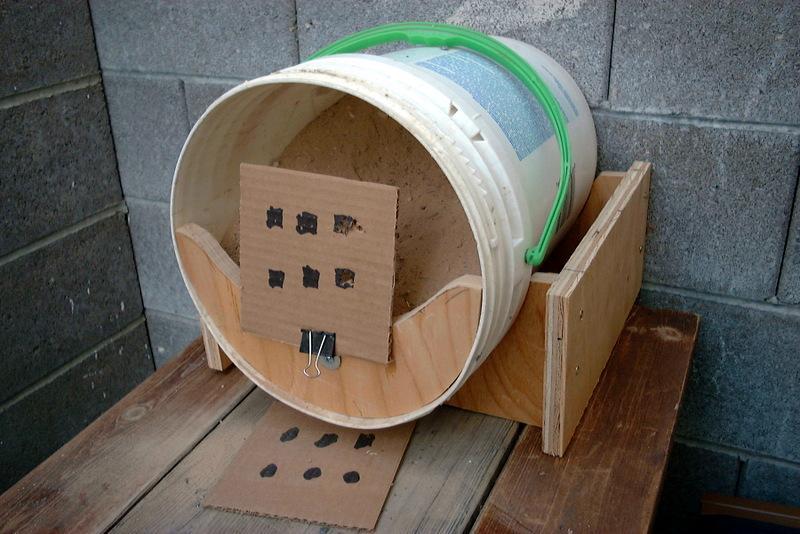 My bucket pellet trap - Airgun Forum - Slingshot Forum