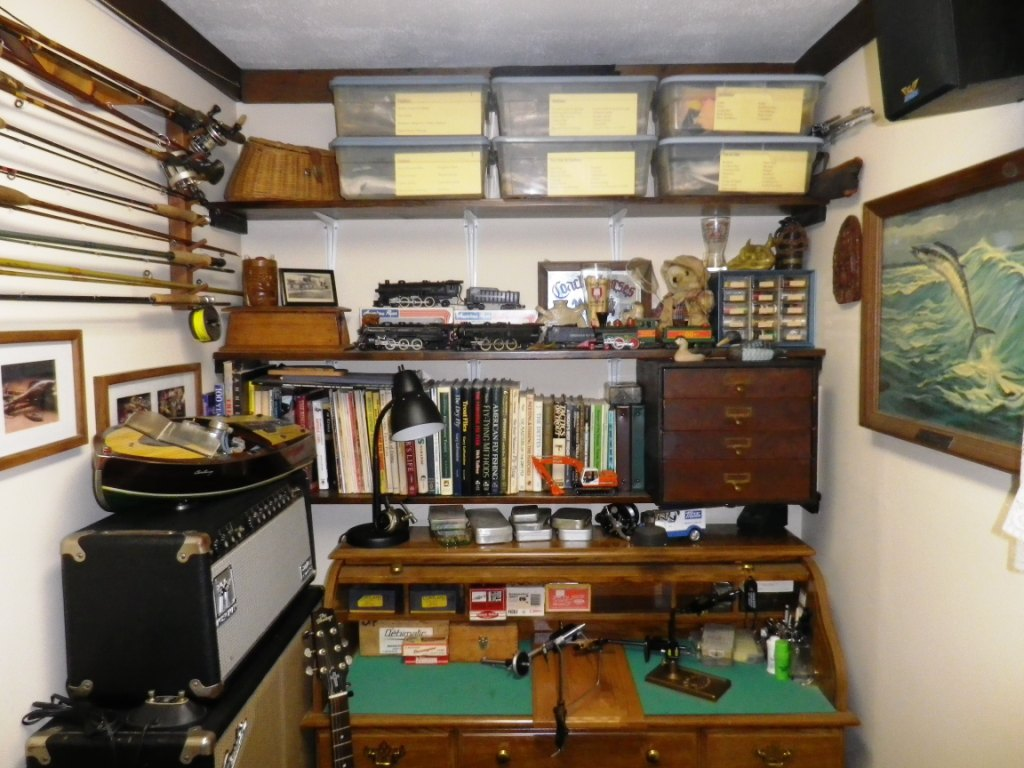 Fly Tying Stuff And The World S Smallest Man Cave