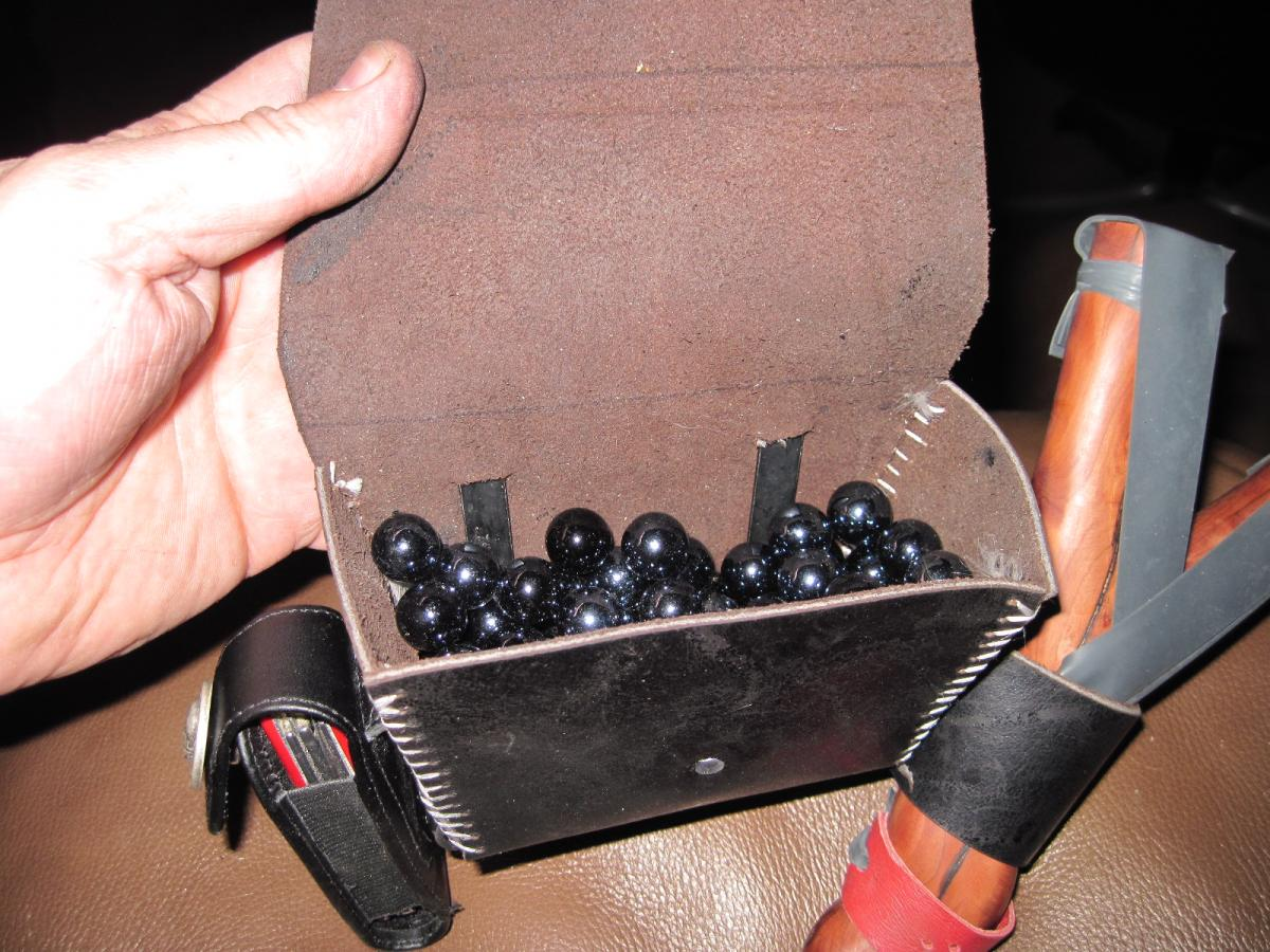 Bad Arse Ammo Pouch And A New Trap General Slingshot